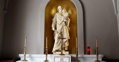 Oración a San José por las familias